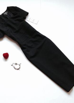 Шерстяное платье футляр миди офисное платье simon jersey