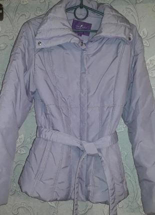 Куртка чертополохового цвета для октября или апреля