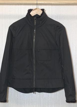 Очень классная курточка с отделкой из меха karen millen