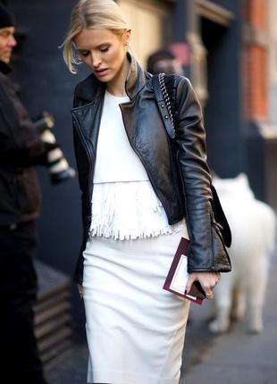 Кожаный пиджак куртка натуральная масляная кожа, бренд, качество