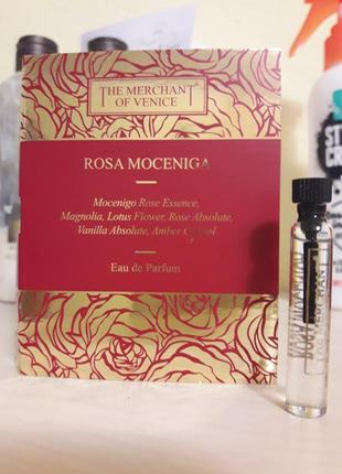 Фирменный пробник нишевого аромата the merchant of venice rosa moceniga, 2 мл