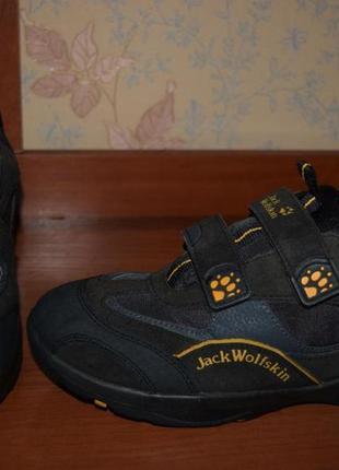 Кожаные полуботинки jack wolfskin texao2re (германия)