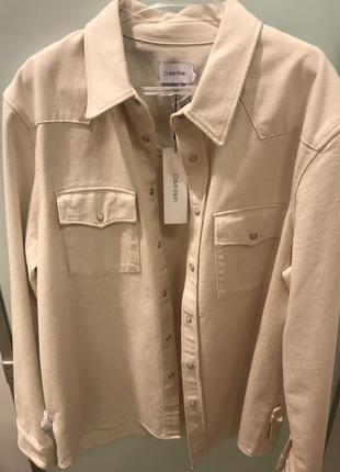 Джинсовая куртка от calvin klein