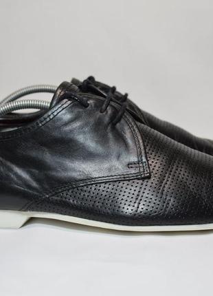 Туфли smh shoes unlimited дерби броги мужские кожаные португалия оригинал 43-44р/28.5см