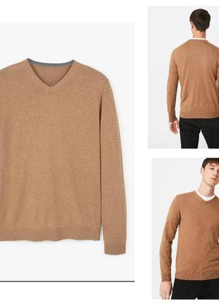 Пуловер из тонкого трикотажа.