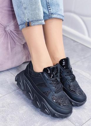Кроссовки на платформе хит модель