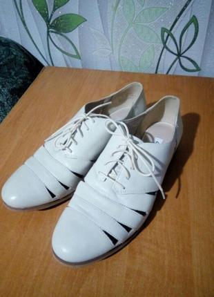 Супер туфли кожа