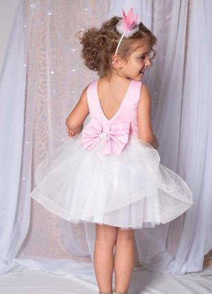 Пышное нарядное платья