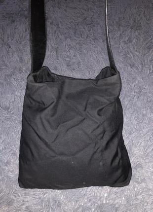 Брендовая чёрная сумка max mara италия