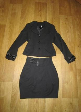 Школьная форма, пиджак, юбка