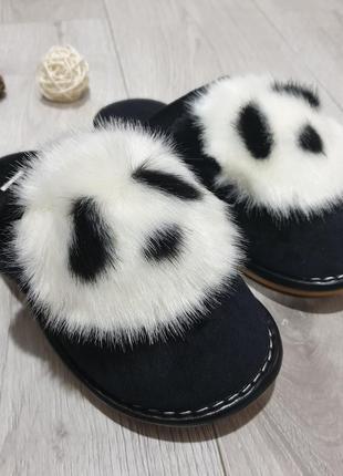 Тапочки для дома панда