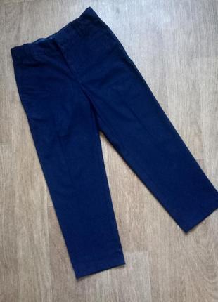 Темно-синие школьные брюки на девочку