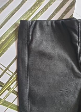 Кожані штанці (лосінки) h&m 4-5 років (110 см)3 фото