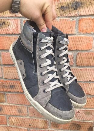Кеды - ботинки зимние rieker размер 45