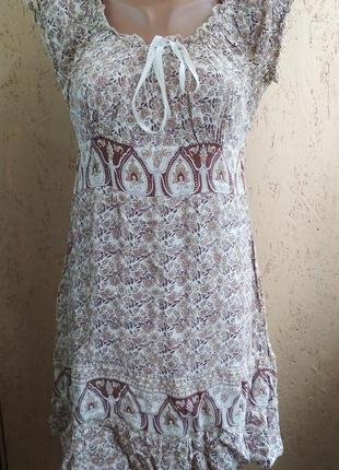 Женское легкое платье 118