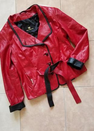 Кожаная куртка турция donnabacconi