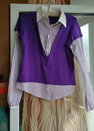 Светр-блуза
