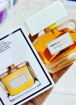 Givenchy dahlia divin eau de parfum 75ml тестер