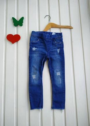 2-3 года, джинсы,h&m