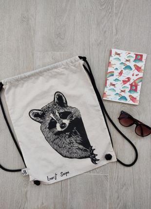 Рюкзак тканевый, еко-шопер
