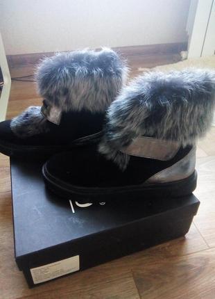 Супер зимние ботинки prego