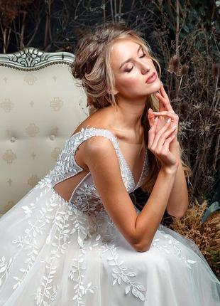 Свадебное платье коллекция 2020 года, одевалось один раз на фотоссесию2 фото