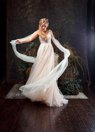Свадебное платье коллекция 2020 года, одевалось один раз на фотоссесию3 фото