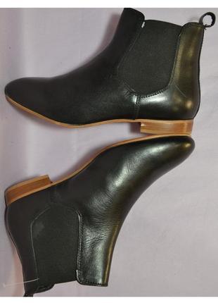 Kiomi италия оригинал! элегантные ботинки челси, натур.кожа! 1000 пар обуви тут