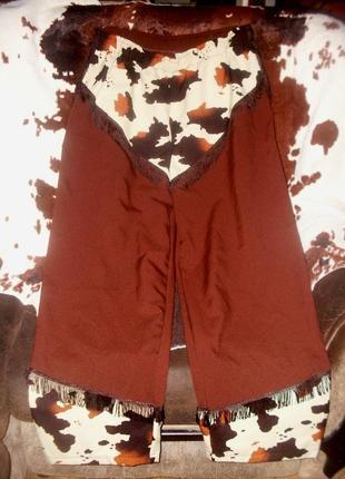 Брюки штаны для ковбоя или шерифа 64 размера