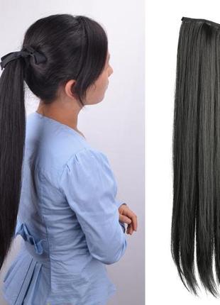 9 хвост из искусственных волос