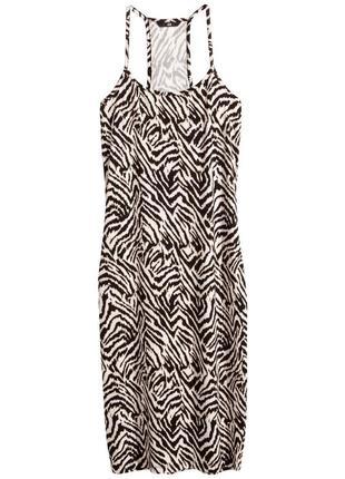 Платье сарафан женский миди h&m с