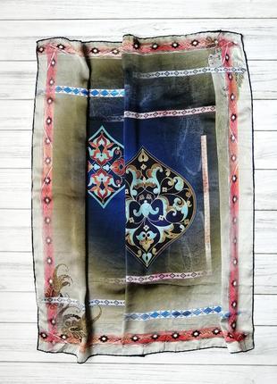 Неймовірний шовковий платок турція
