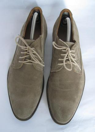 - фирменные замшевые туфли -starc - 43 -