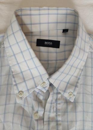 Рубашка с коротким рукавом hugo boss. м-40