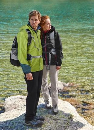 Крутая мужская водоотталкивающая куртка ветровка от crivit германия р. 50