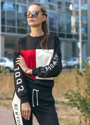 Яркий , стильный спортивный костюм {турция} размеры :m/l/xl хлопок ,хит 2019
