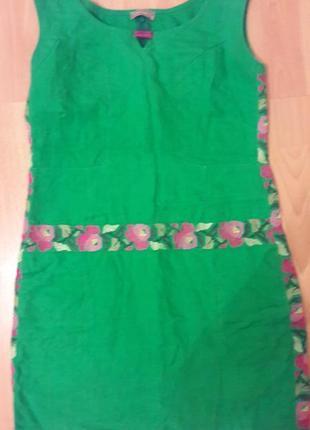 Льняное платье тм linen gallery