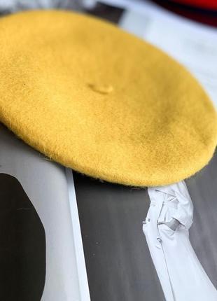 Берет женский фетровый 100% шерсть