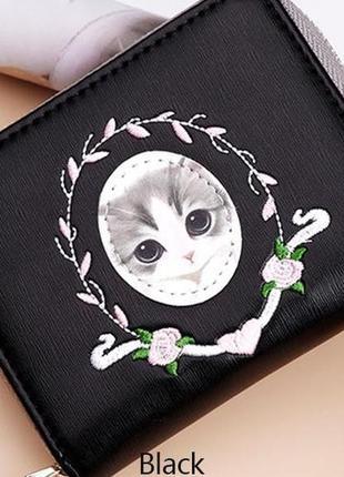 Есть разные варианты! новый гламурный милый короткий мини кошелек кот котик