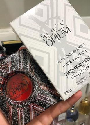 Yves saint laurent black opium pure illusion edp 100ml тестер