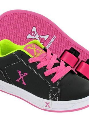 Sidewalk sports роликовые кроссовки кеды ролики стелька 22.5 см