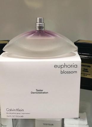 Calvin klein euphoria blossom eau de parfum 100ml тестер