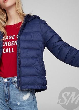 Куртка стёганная на осень pull&bear