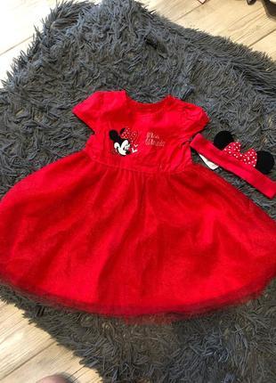 Это просто нереальное красивое платье микки мауса для вашей принцессы