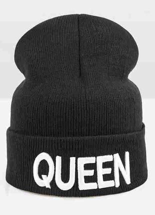 13-32 мега-крута стильна модна шапка queen3 фото