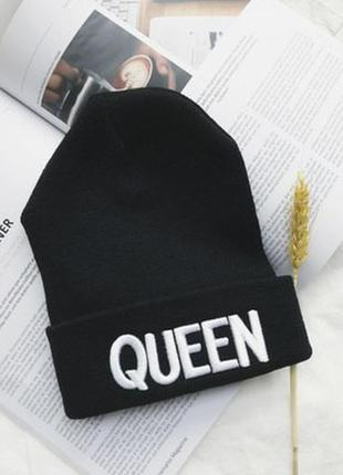 13-32 мега-крута стильна модна шапка queen6 фото