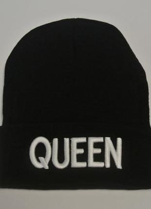 13-32 мега-крута стильна модна шапка queen7 фото