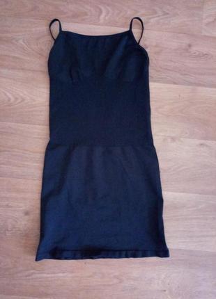 Утяжка грация майка-платье от etam l/42-44 на 48-50 размеры