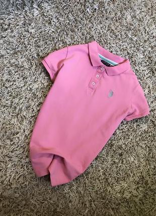 Оригинальная стильная футболка поло размер с-м