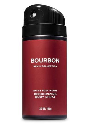 Дезодорант bourbon bath and body works